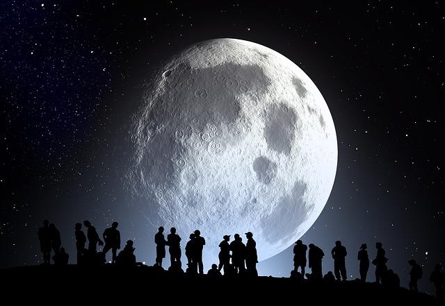 スーパームーンの夜に。月を想う。生命を想う。人間を想う。