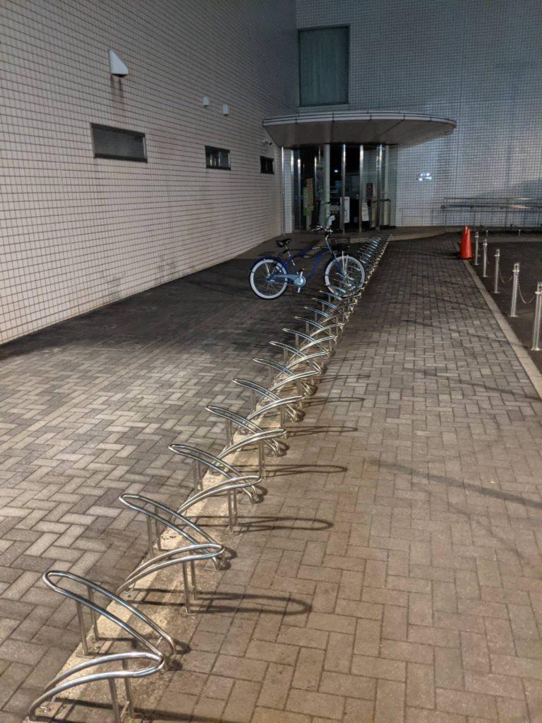 置き忘れられた自転車